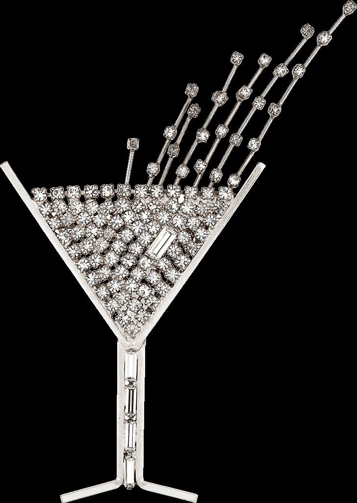 champagne-brooch