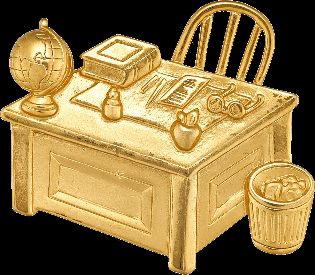desk-brooch