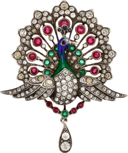peacock-brooch